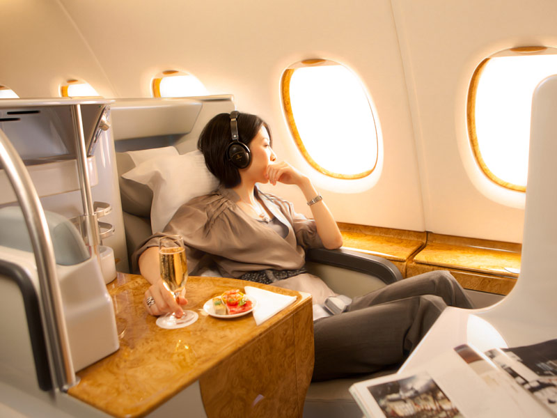 Business Class Cabin Features Flying With Emirates