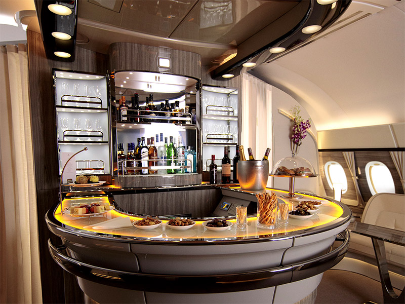 Image result for emirates a380 business class