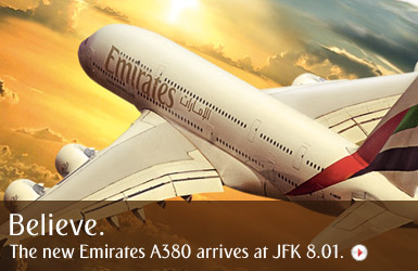 Emirates Airline Flight Booking