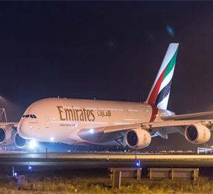 Emirates set to showcase the world's first two class A380 at the Dubai Airshow