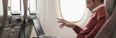 Enjoy Wi-Fi at 40,000 feet onboard the Emirates A380