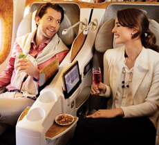 Travel in style with Emirates