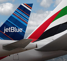 JetBlue and Emirates